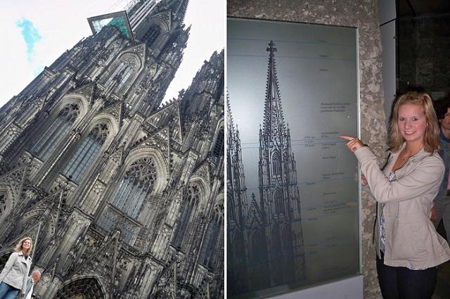 Köln, Kölner Dom, Dom, koelner Dom, Domplatte, NRW, On tour, Annanikabu_Collage_1