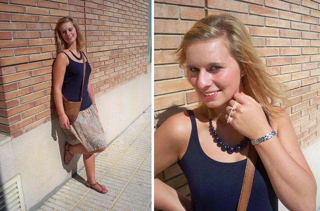 Outfit_Spanien_Urlaub_Rock_Annanikabu_Barcelona_Urlaubs Outfit_Outfit im Urlaub, Sommerurlaub_Collage_1
