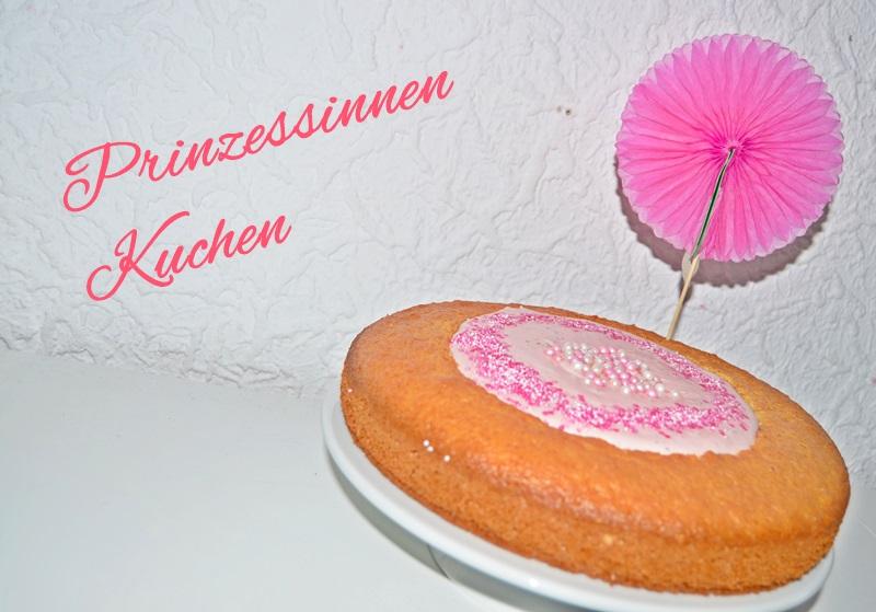 Pinker Prinzessinnen Kuchen