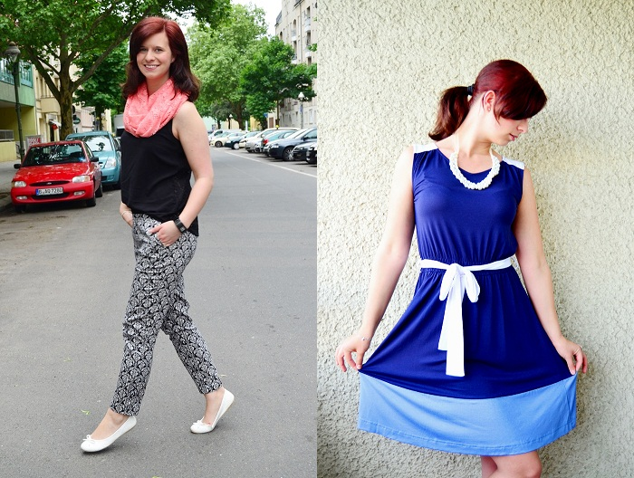 Outfit_Fashion_Dutt_rote-Haare_Frau_Bloggerin_Outfitreview_Outfitrückblick Juni_Fashionbloggerin_Fashionblog_Annanikabu_Portrait_Collage_2