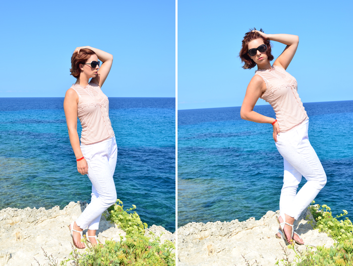 Mallorca Look_Outfit_Mallorca_Fashion_Outfitpost_Outfit im Urlaub_weiße Hose_Primark_1
