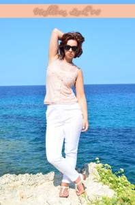 Mallorca Look_Outfit_Mallorca_Fashion_Outfitpost_Outfit im Urlaub_weiße Hose_Primark_2