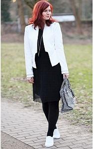 das-kleine-Schwarze_weißer-Blazer_Blazer-von-Orsay_Orsay_Kleid-von-Esprit_schwarzes-Kleid_black-dress_Annanikabu_Collage_1