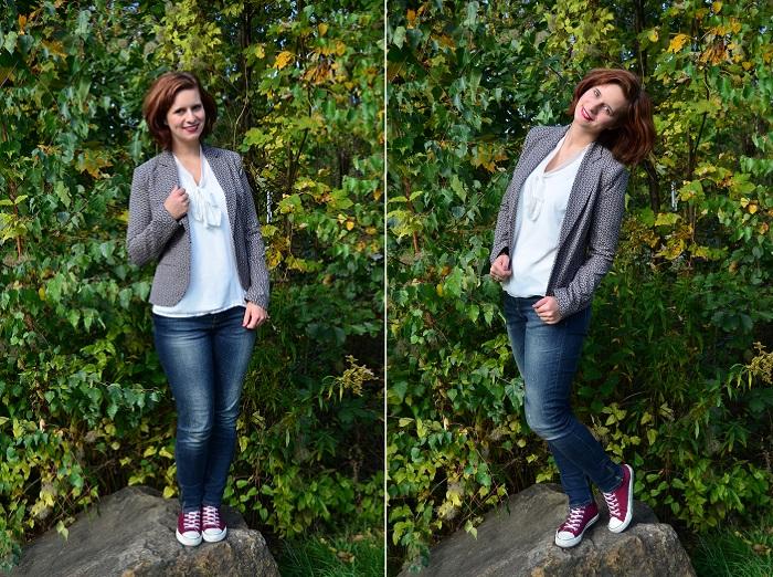 Outfit_Fashion_Outfitpost_Fashionblogger_Blazer von Orsay_Orsay_Blazer_Jeans_Chucks_Annanikabu