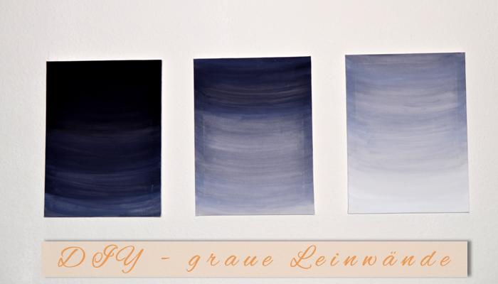 expressionistische Kunst – Leinwand DIY