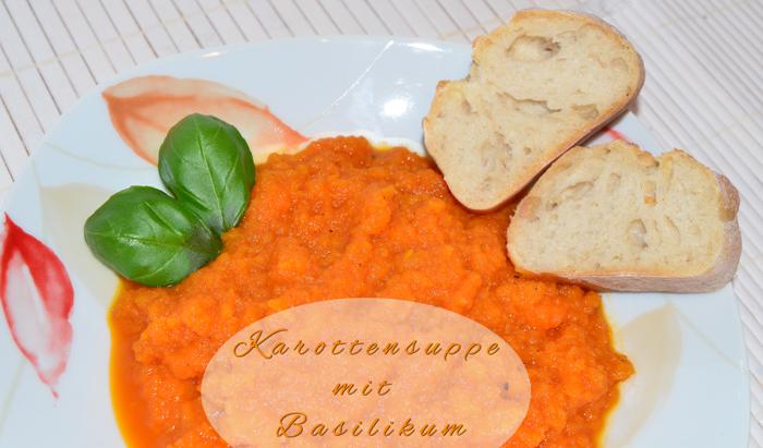 Karotten Suppe_Basilikum_Möhren_Morüben_Suppe_Rezept_Essen_Food_1