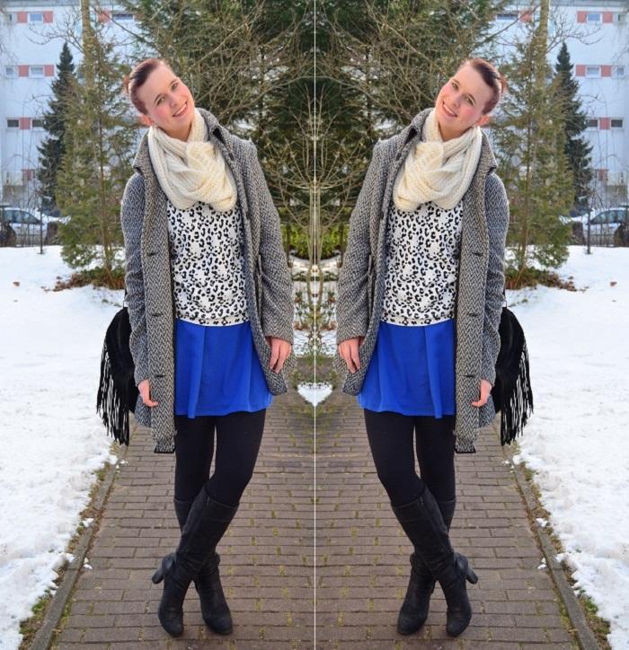 Outfit_Outfitpost_blaues Kleid_Leopulli_Mango_Pullover von Mango_Blog_Fashionblog_Annanikabu_1