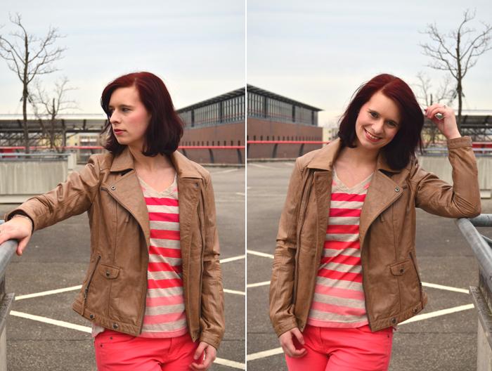 Outfit_Tchibo_farbverliebt_Lederjacke_rote Hose_Annanikabu_2