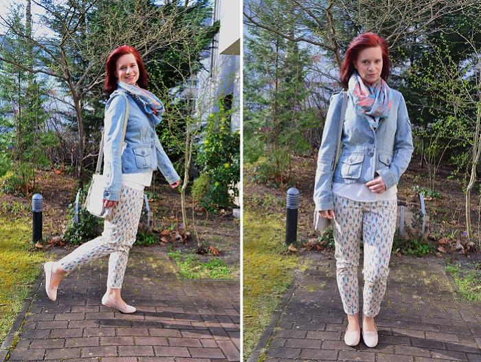 Outfit mit Musterhose_Musterhose_Musterhose von Orsay_Hose von Orsay_Outfitpost_Musterhose kombinieren_Annanikabu_Collage