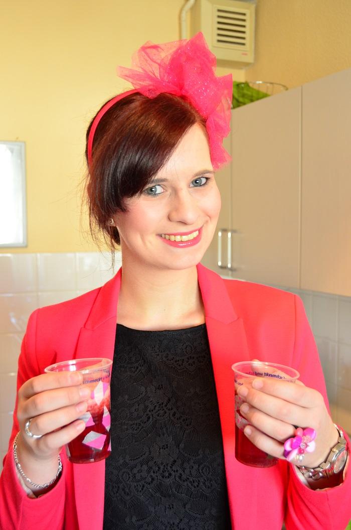 Pink Party_Geburtstag_Geburtstagsfeier_Bowle_Annanikabu