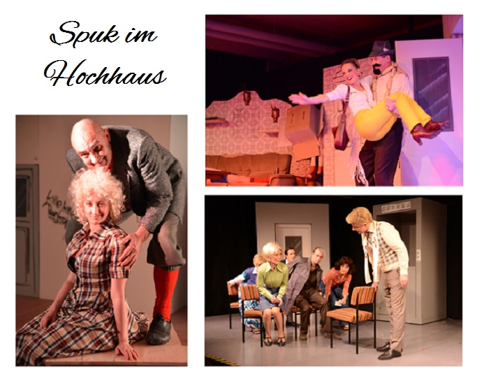Spuk im Hochhause_Theater_Berlin_Mutti_Vatti_Fuchs_Jette_DDR_Berlin_Osten_Kinderserie_Collage