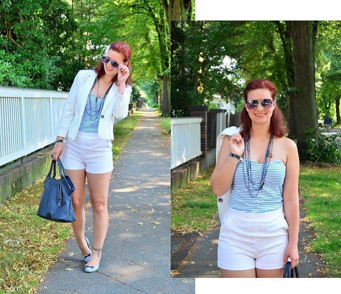 shopping blogging queen_matrosen ahoi_monaco_blau weiß_Outfit_Outfitpost_Annanikabu_Collage_1