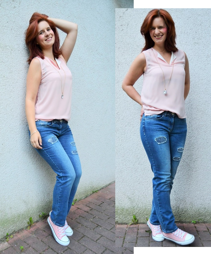 Cecil_Jeans_Outfit_schichtes Outfit_graue Jeans_Primark_Annanikabu_rosa grau_2