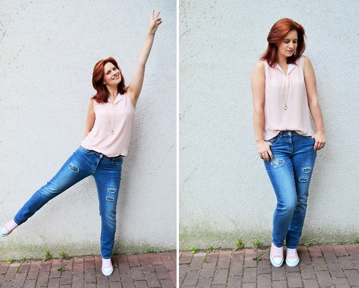 Cecil_Jeans_Outfit_schichtes Outfit_graue Jeans_Primark_Annanikabu_rosa grau_3