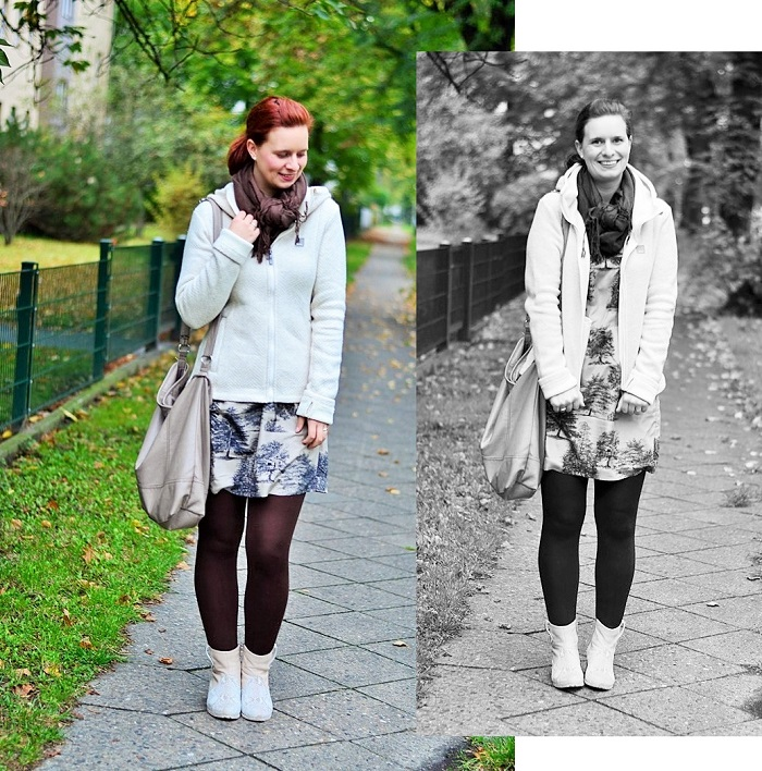 Bleibtreu store-bleibtreu berlin-bench-outfit mit kleid-herbst outfit-kleid im herbst-kleid mit strickjacke-outfit im herbst-kleid im herbst-annanikabu-lovemyhood-bearbeitet-1