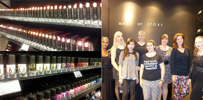 Make up Store_Beauty_Beauty Blogger Event_Beauty Bloggerin_Alexa Berlin_Annanikabu_Berlin_Instagram_Collage