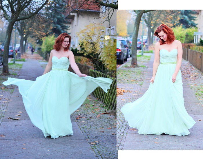 Abendkleid, schickes kleid, grünes kleid, abedrobe, ballkleid, annanikabu, collage 1