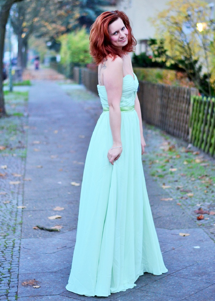 Abendkleid, schickes kleid, grünes kleid, abedrobe, ballkleid, annanikabu, keine collage, haha