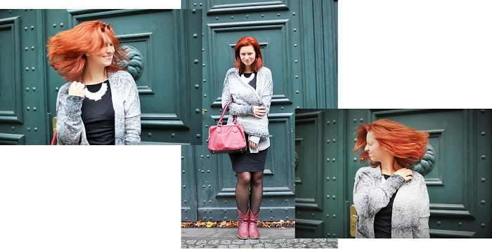 Bench_Bench Strickjacke_black and white_Outfit_schwarz weiß Outfit_Outfitpost_Annanikabu_Collage_1