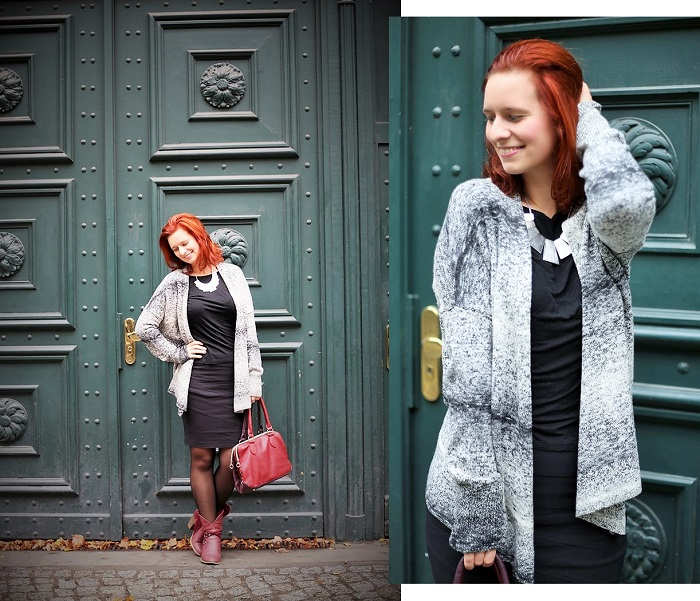 Bench_Bench Strickjacke_black and white_Outfit_schwarz weiß Outfit_Outfitpost_Annanikabu_Collage_2