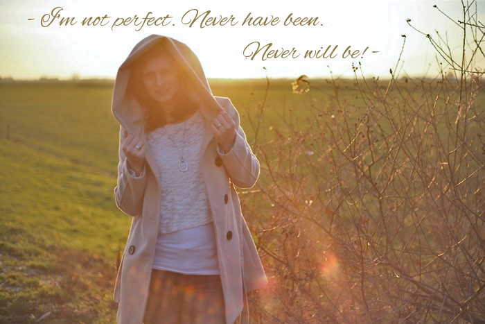 Im not perfect, never have been, never will be