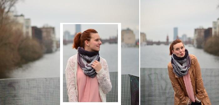 Oberbaumbrücke_Outfitbilder_Berlin_Trenchcoat_beiger Trenchcoat_Chucks_rosa Chucks_rosa Converse_rosa mit Pünktchen_Annanikabu_Outfit_Collage_2