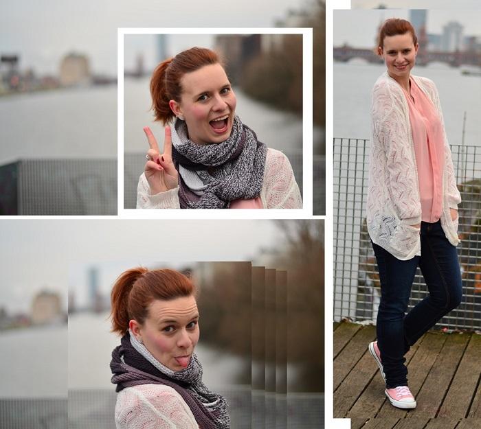 Oberbaumbrücke_Outfitbilder_Berlin_Trenchcoat_beiger Trenchcoat_Chucks_rosa Chucks_rosa Converse_rosa mit Pünktchen_Annanikabu_Outfit_Collage_4