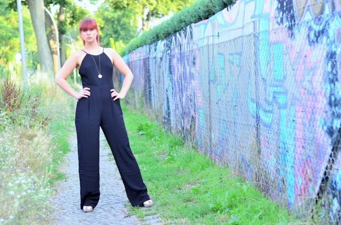 black is beautiful_schwarzer Jumpsuit_Jumpsuit_Overall_Forever21_Overall von Forever21_Jumpsuit Forever21_schwarzer Overall_2 (4)