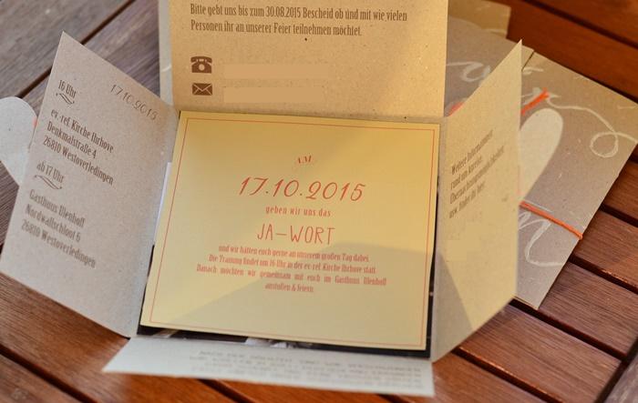 Diy Einladungskarten   Wir Heirateten   Annanikabu, Einladung
