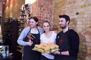 Burger Workshop und <p> &#8222;Burger Bibel&#8220; Launch Event