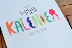 illustrierter Saisonkalender