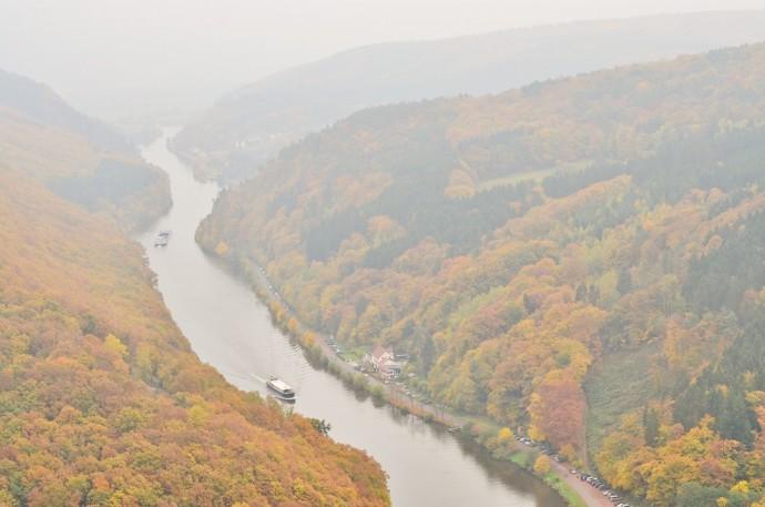 Saarschleife_Saarland_Saarland im Herbst_Herbstreise_Bullitour_Herbst in Deutschland_Reiseblog Saarland_Deutschlandreise_Saarschleife im Herbst_Annanikabu (7)