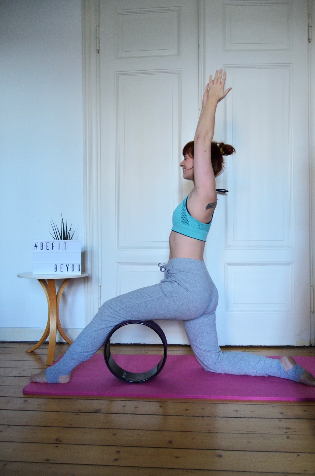 Tchibo_befitbeyou_be fit_Fitness_Yoga_Yogarad_Annanikabu