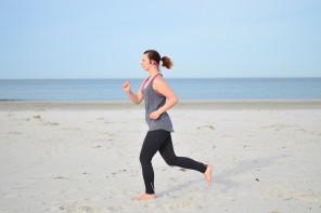 Joggen mit Trekz Titanium am Meer + Gewinnspiel