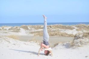 Ausserhalb der Zeit – mit dem Feetup am Meer